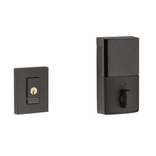 Satin Black Evolved Contemporary Deadbolt