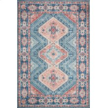 Turquoise / Terracotta Rug