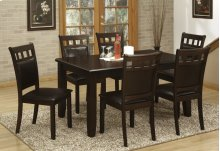 7pc. Cappuccino Dining Set