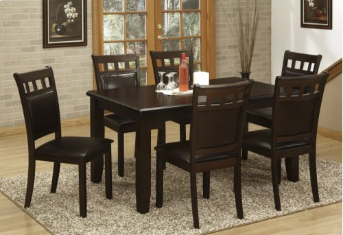 7pc. Cappuccino Dining Set