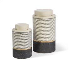 Pascal Tea Jars