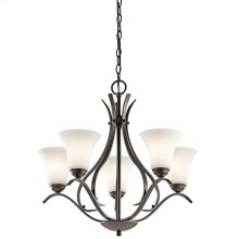 Keiran Collection Keiran 5 light Chandelier OZ