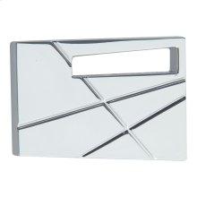 Modernist Right Knob 1 3/4 Inch - Polished Chrome