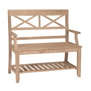 BE-1 Double X Back Bench Product Image