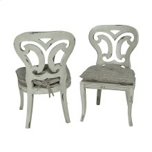 ARTIFACTS SIDE CHAIR - Set of 2