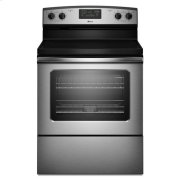 Amana® 30-inch Amana® Electric Range with Easy Touch Electronic Controls - Stainless Steel Product Image