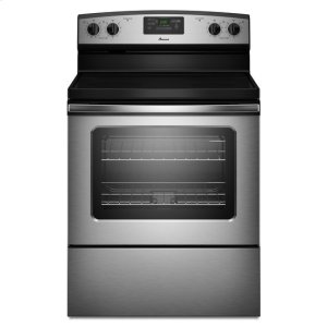 AmanaAmana(R) 30-inch Amana(R) Electric Range with Easy Touch Electronic Controls - Stainless Steel