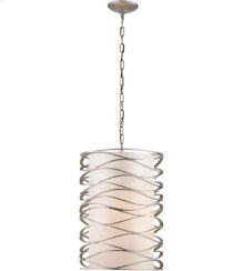 Visual Comfort S5046BSL-L Barry Goralnick Bracelet 1 Light 16 inch Burnished Silver Leaf Pendant Ceiling Light