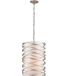 Visual Comfort S5046BSL-L Barry Goralnick Bracelet 1 Light 16 inch Burnished Silver Leaf Pendant Ceiling Light