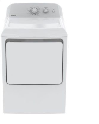 MTX22EBMKWW - White Moffat Moffat 6.2 cu ft.capacity DuraDrum electric dryer
