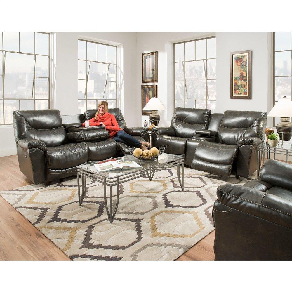 Reclining Sofa w/Table