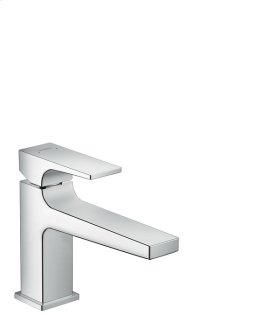 Chrome Metropol 100 Single-Hole Faucet with Lever Handle without Pop-Up, 1.2 GPM