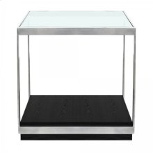 Armen Living Manchester Contemporary End Table