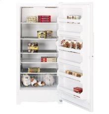 GE® 20.6 Cu. Ft. Manual Defrost Upright Freezer
