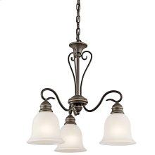 Tanglewood 3 Light Chandelier with LED Bulbs Olde Bronze®
