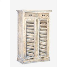 "Promenade 59""H 2 drawer - 2 door cabinet (37..5X18X59)"