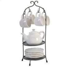 S/10 Tea Set With Stand