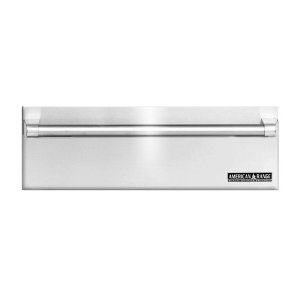 "American Range30"" Stainless Steel Warming Drawer With Classic Handle"