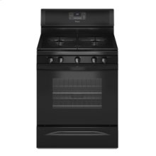 Whirlpool® 5.0 cu. ft. Capacity Gas Range with a Fifth Cooktop Burner