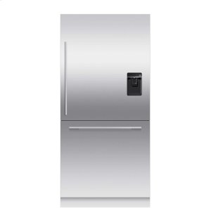 "Fisher & PaykelIntegrated Refrigerator Freezer, 36"", 16.8cu ft, Panel Ready, Ice & Water"