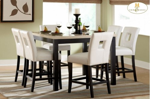 Counter Height Table & 4 Chairs