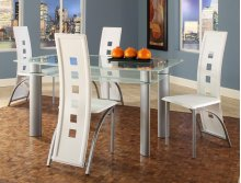 Astro White Dinette Table