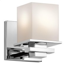 Tully Collection Tully 1 light Wall Sconce in Chrome
