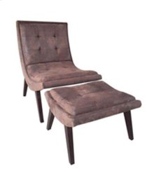 """Foray"" Chair and Ottoman GA"