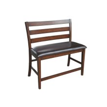 Dining - Kona Ladder Back Counter Height Bench