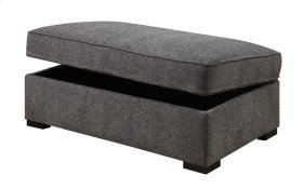 Storage Ottoman W/hidden Castors Chatham Granite Zy6604c-12