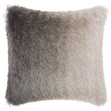 """Shag Tr011 Charcoal 20"""" X 20"""" Throw Pillows"""