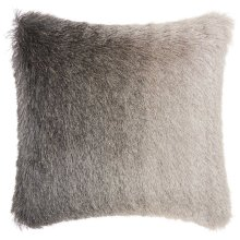 "Shag Tr011 Charcoal 20"" X 20"" Throw Pillows"