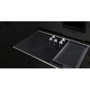 MAYTAG36-Inch Electric Cooktop with Reversible Grill and Griddle
