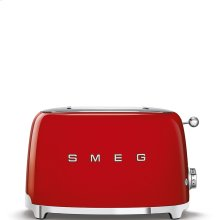 2x2 Slice Toaster, Red