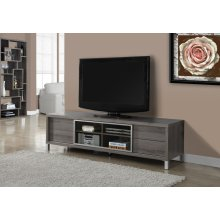 """TV STAND - 70""""L / DARK TAUPE EURO STYLE"""
