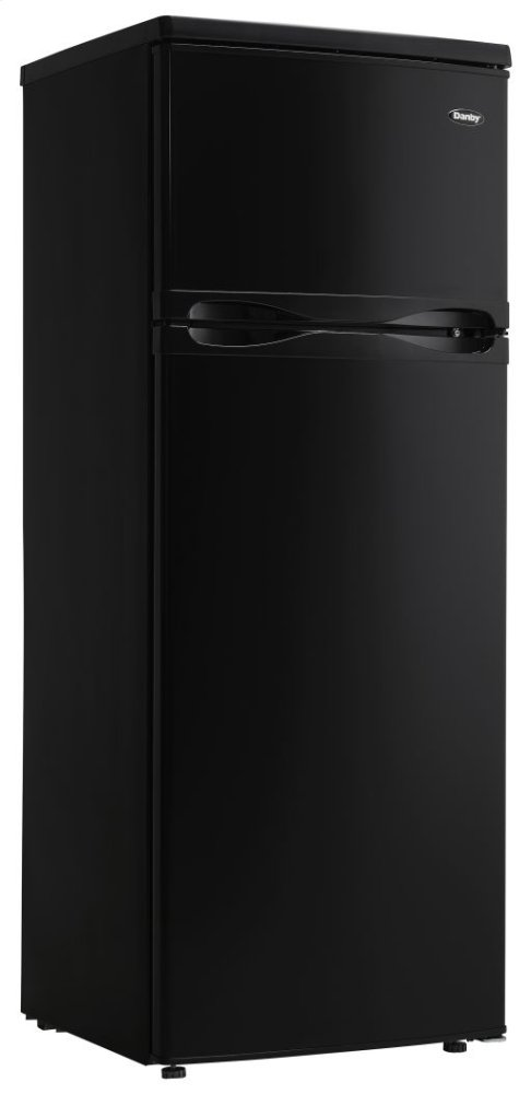 DPF073C1BDB Danby 7.3 cu. ft. Apartment Size Refrigerator BLACK ...