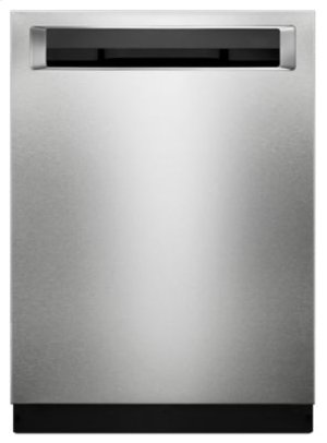 39 DBA Dishwasher with Fan-Enabled ProDry™ System and PrintShield™ Finish, Pocket Handle - PrintShield Stainless
