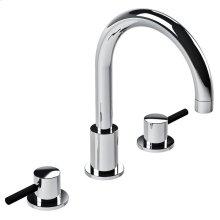 Zu 3-hole basin mixer, no P.U.W.