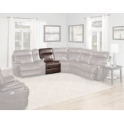 Dylan Mahogany Manual Armless Recliner Product Image