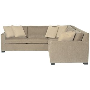 Kelsey Sectional (2-Piece) in Mocha (751)