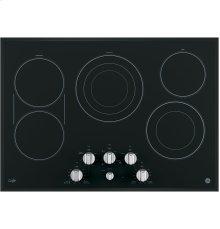 "GE Café Series 30"" Built-In Knob Control Electric Cooktop"