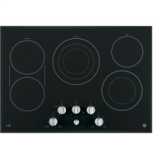 "GE Cafe™ Series 30"" Built-In Knob Control Electric Cooktop"