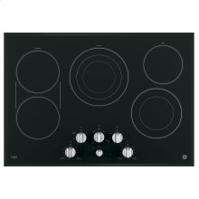 """GE Cafe™ Series 30"""" Built-In Knob Control Electric Cooktop"""