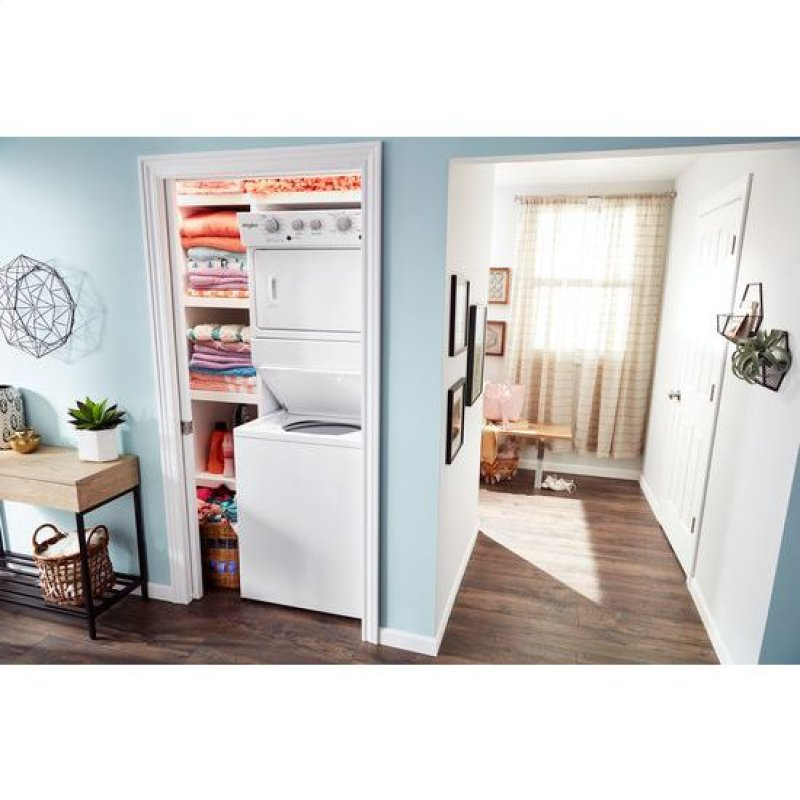 72d85e5dfcb Whirlpool® 3.5 cu.ft Gas Stacked Laundry Center 9 Wash cycles and AutoDry™