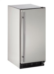 "Outdoor Series 15"" Outdoor Refrigerator With Stainless Solid (lock) Finish and Field Reversible Door Swing (115 Volts / 60 Hz)"