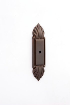 Fiore Backplate A1475 - Chocolate Bronze
