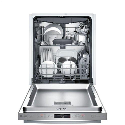 300 Series built-under dishwasher 24'' Stainless steel SHXM63WS5N