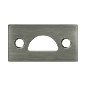 Mortise Strike, Solid Brass - Antique Nickel