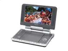 """8.5"""" Diagonal Widescreen Portable DVD Player with Headrest Mounting Bracket"""