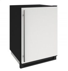 "1000 Series 24"" Convertible Freezer With White Solid Finish and Field Reversible Door Swing"